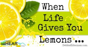 banner fresh lemons with drops of juice