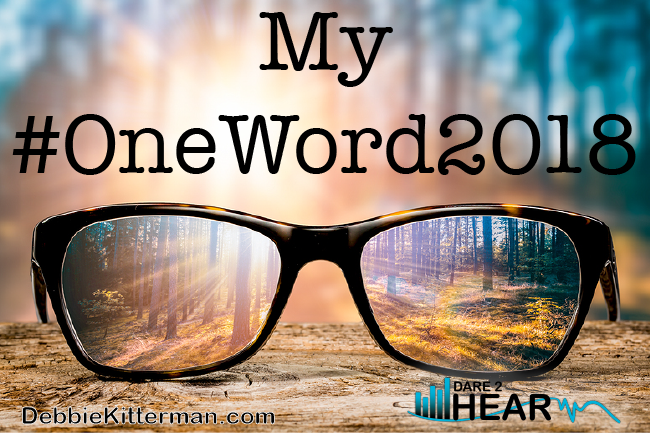 My #OneWord2018 & Tune in Thursday #44