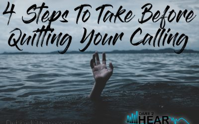 4 Steps to Take Before Quitting Your Calling & Tune In Thursday #86